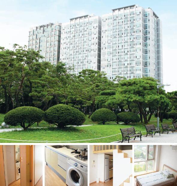 предоставление квартир для пациентов в клиниках Кореи
