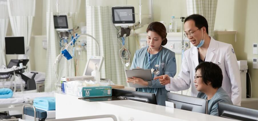 Лечение и диагностика у корейских врачей