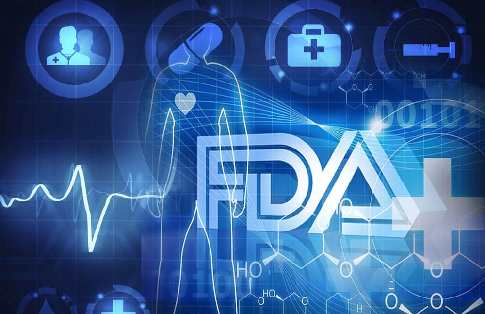 эмблема FDA, санитарный надзор